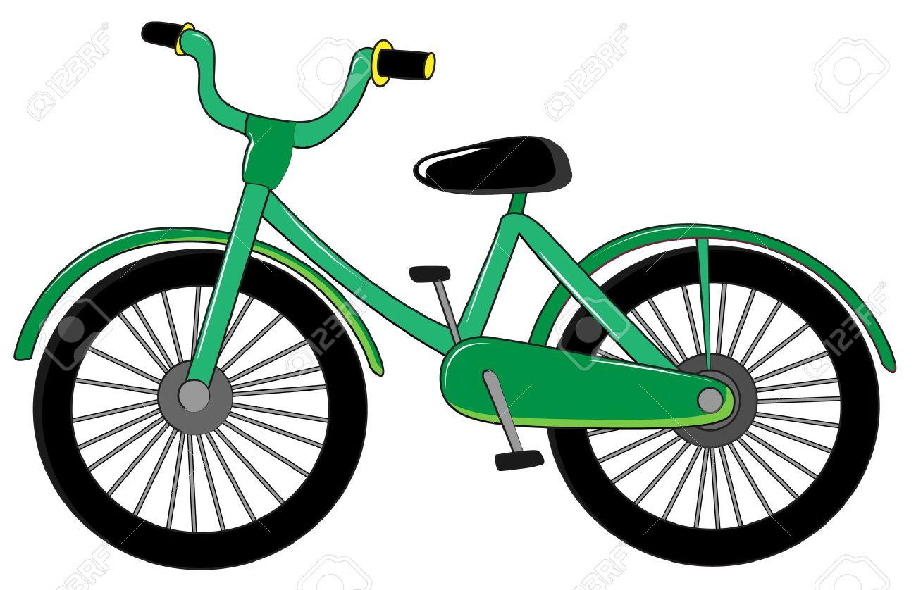 free cartoon bicycle cliparts