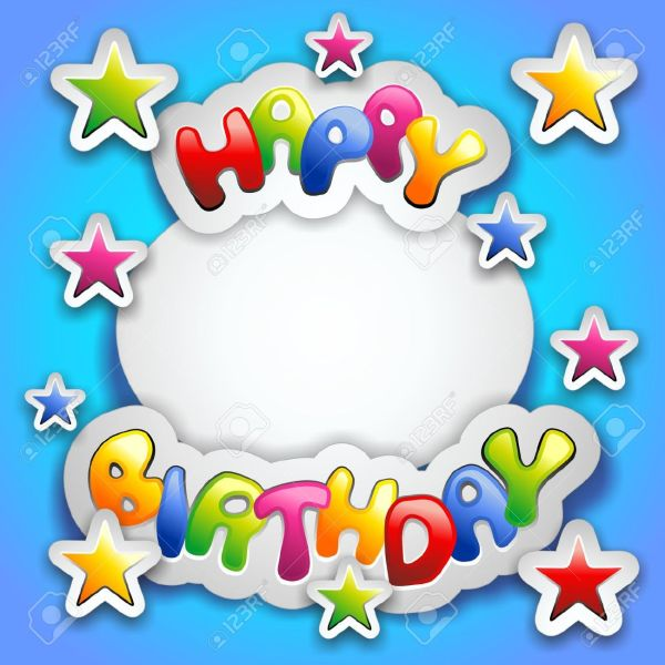 free male birthday cliparts