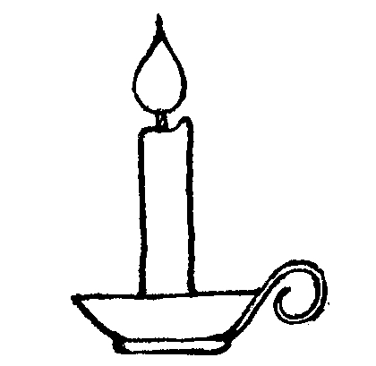 Free Candle Cliparts Funeral, Download Free Candle