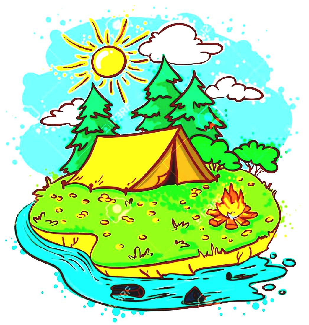 hight resolution of adventure camp clipart kids