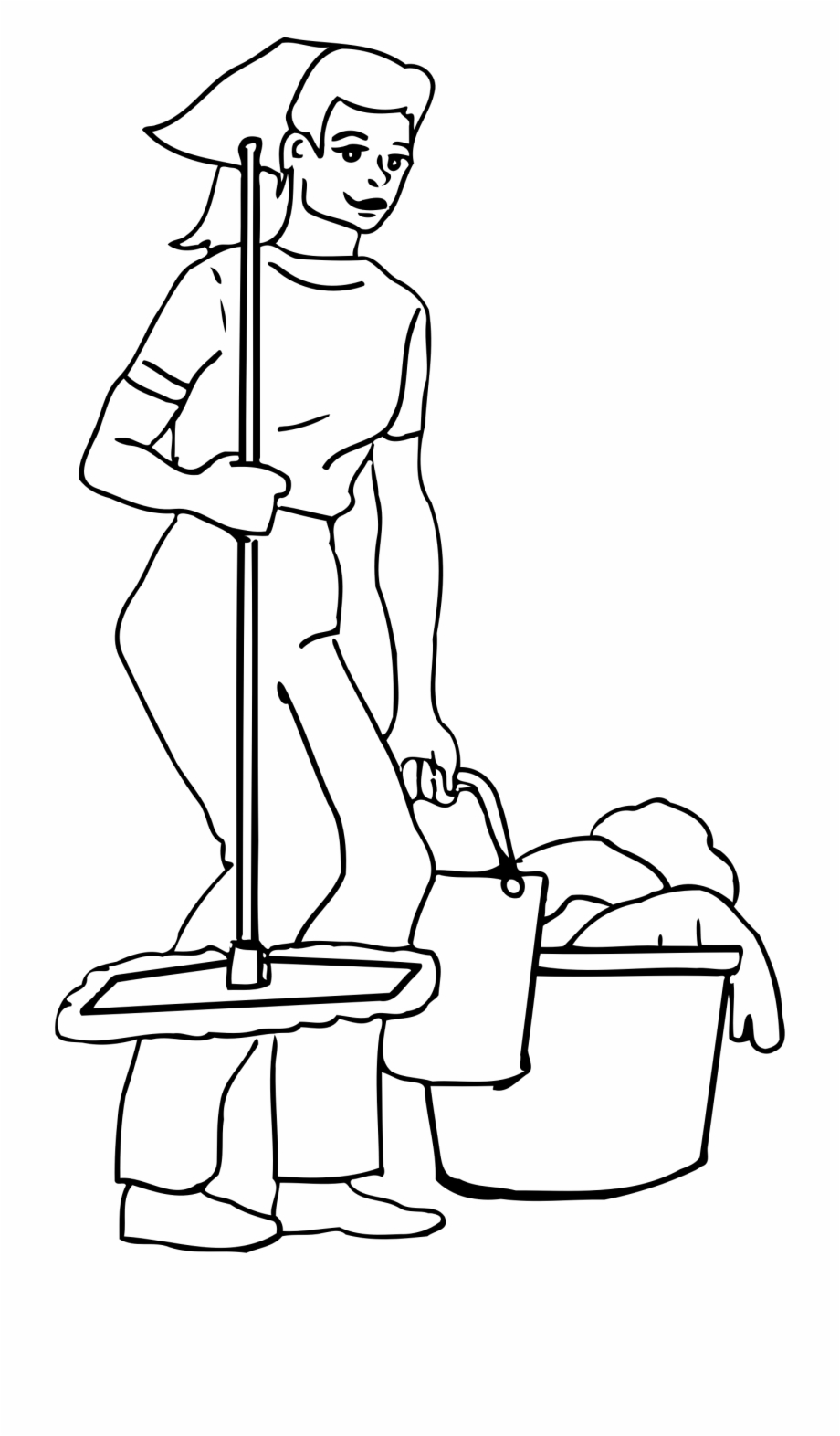 Cleaning Clipart Black And White : cleaning, clipart, black, white, Cleaning, Clipart, Black, White,, Download, Library
