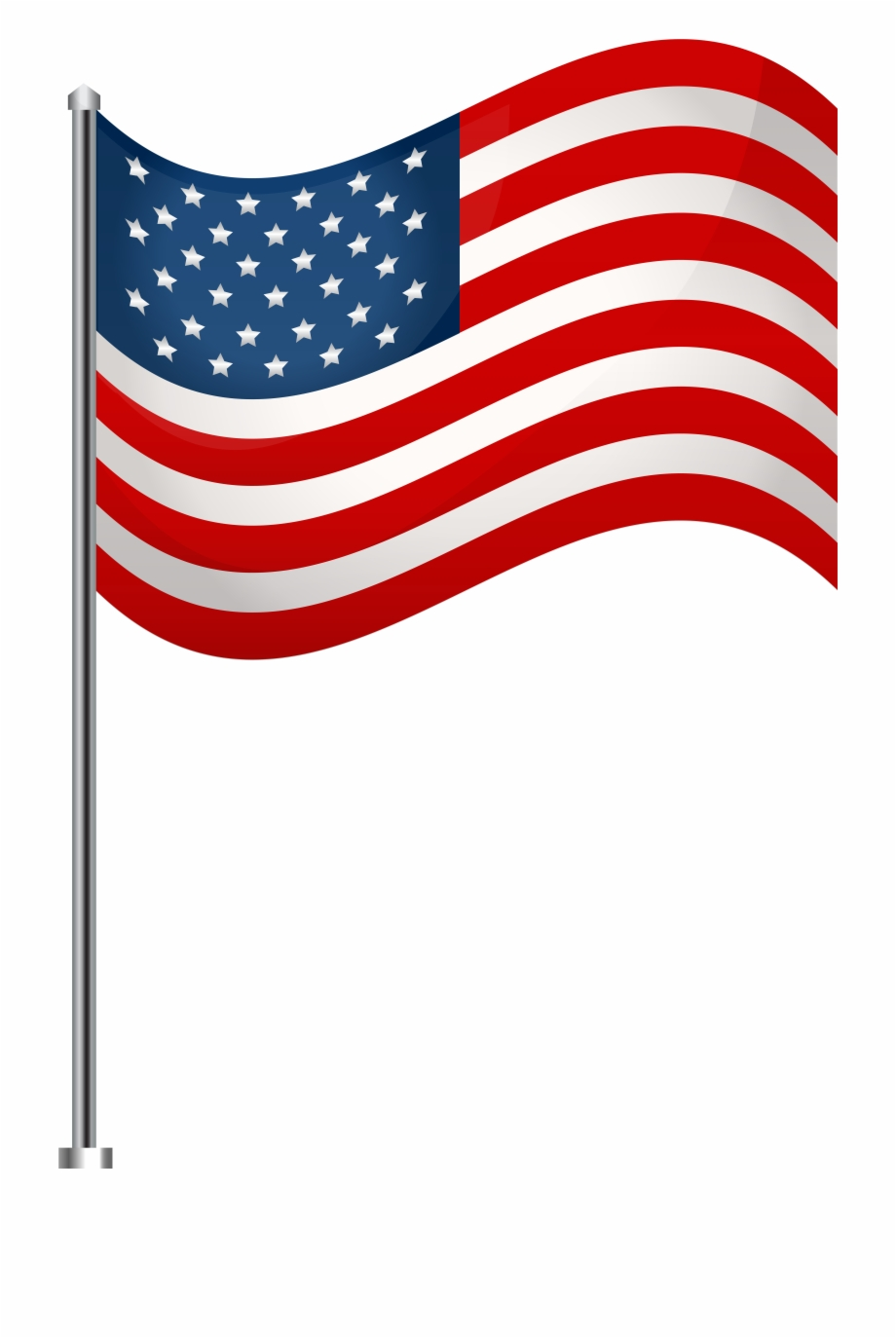 American Flag Clipart Png : american, clipart, American, Clipart, Transparent, Background,, Download, Library