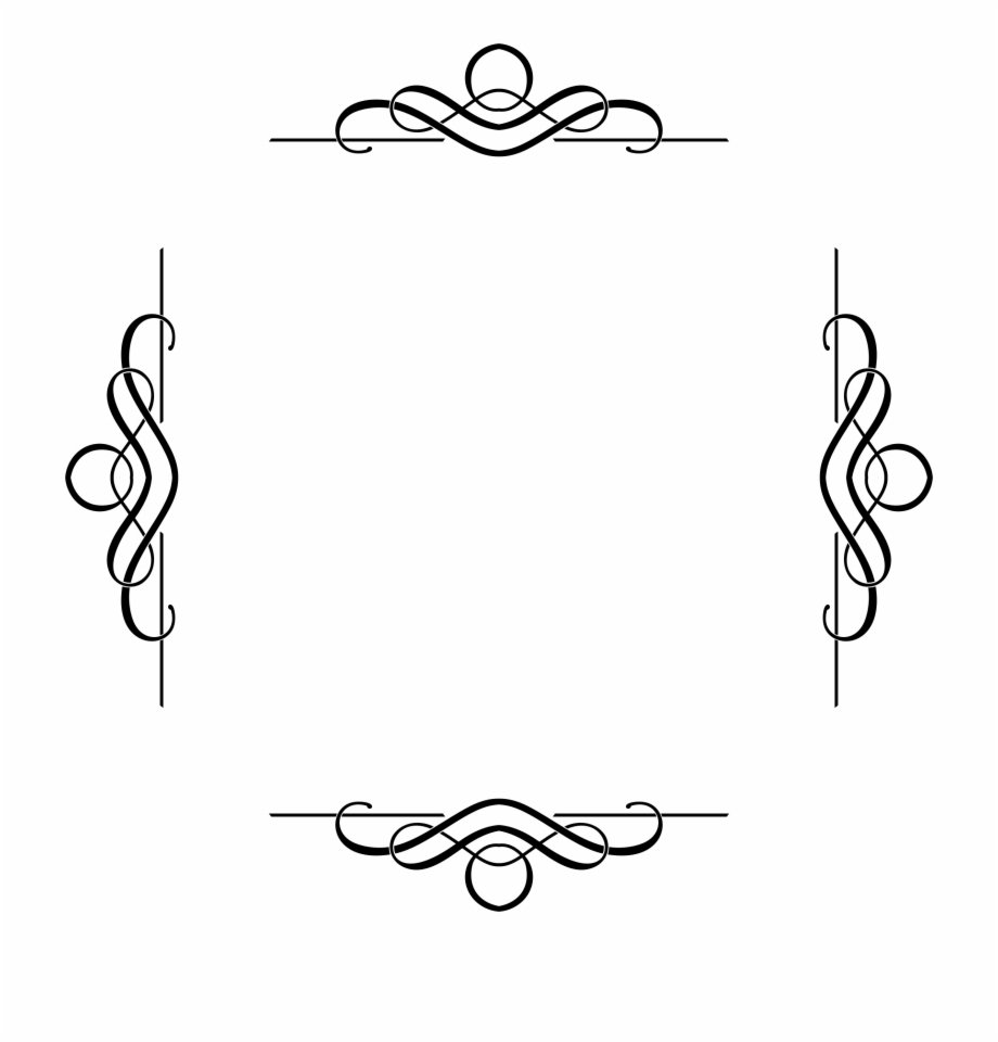 Free Simple Flower Border Designs For A4 Paper, Download