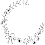 Free Flower Wreath Clipart Black And White Download Free Clip Art Free Clip Art On Clipart Library