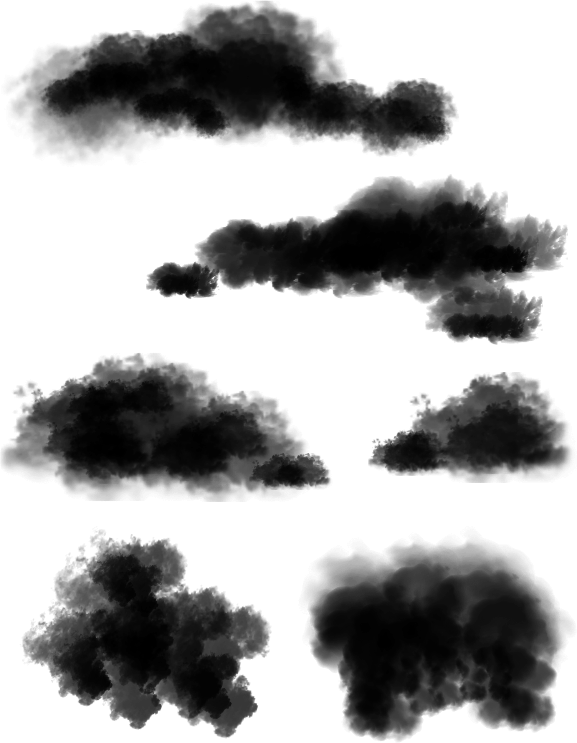 Clouds Transparent Png : clouds, transparent, Fluffy, Clouds, Download, Clipart, Library