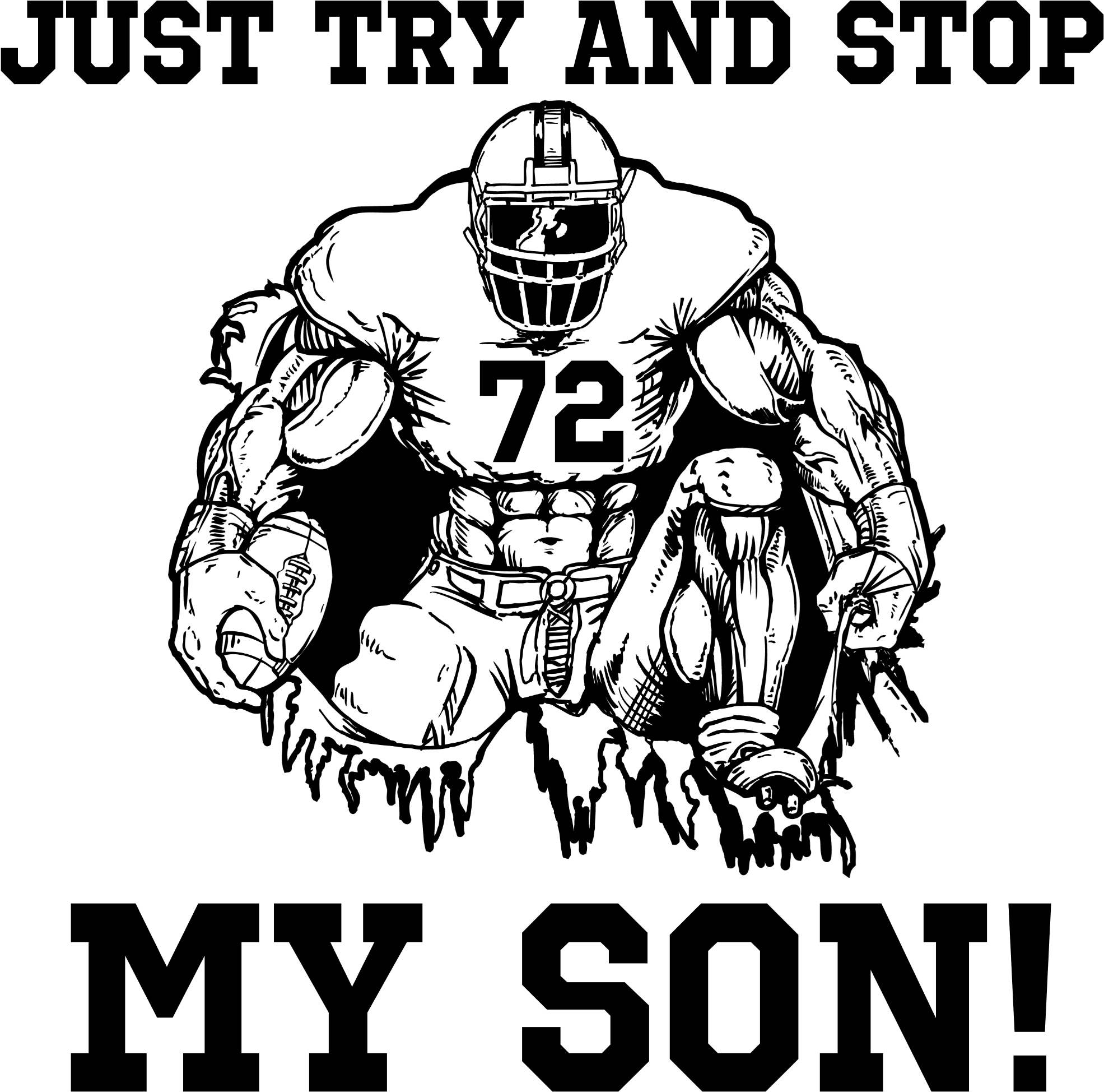 Free Football Tackle Silhouette Download Free Clip Art