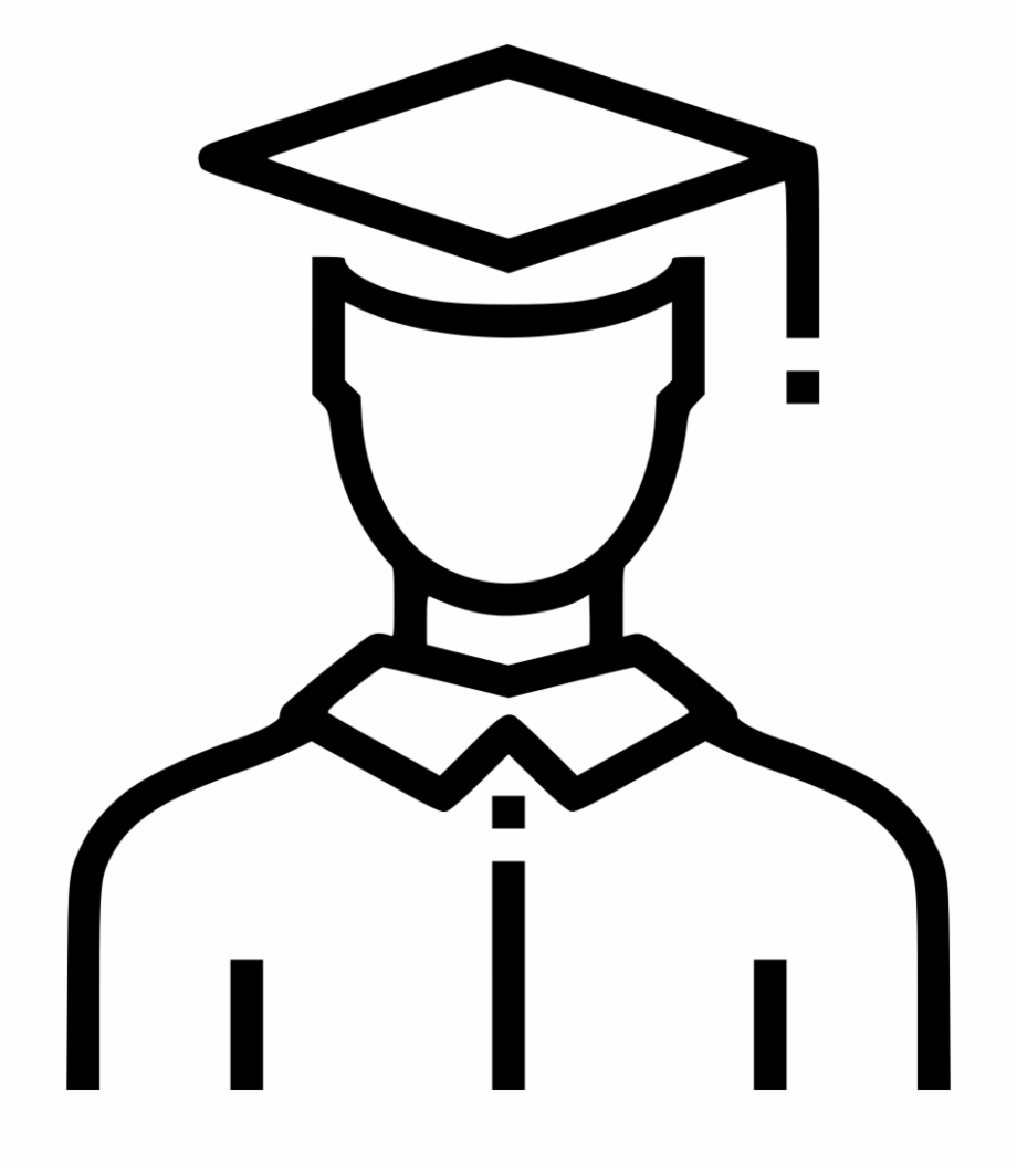 Free Black And White Graduation Clip Art, Download Free