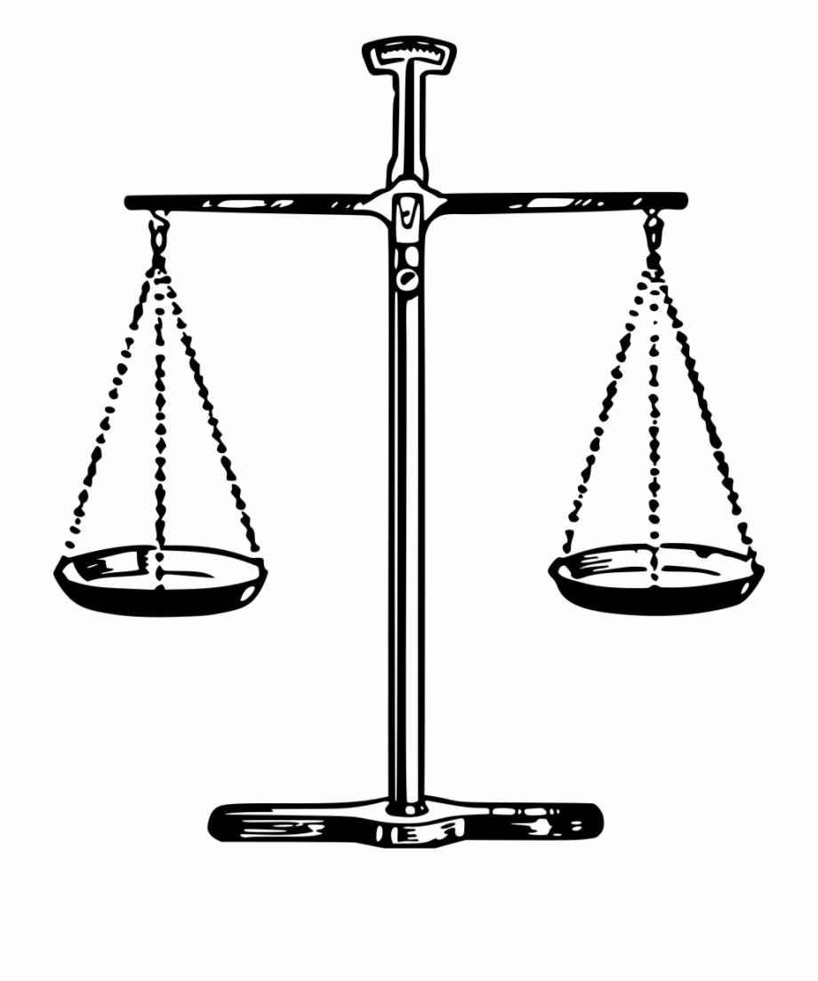 Free Clip Art Scales Of Justice : scales, justice, Scales, Justice, Silhouette,, Download, Clipart, Library