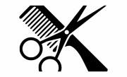 free black and white scissors clipart