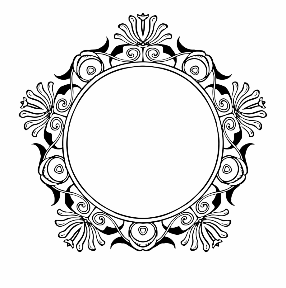 Free Mirror Clipart Black And White, Download Free Clip
