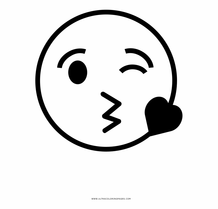 Free Kiss Clipart Black And White, Download Free Clip Art