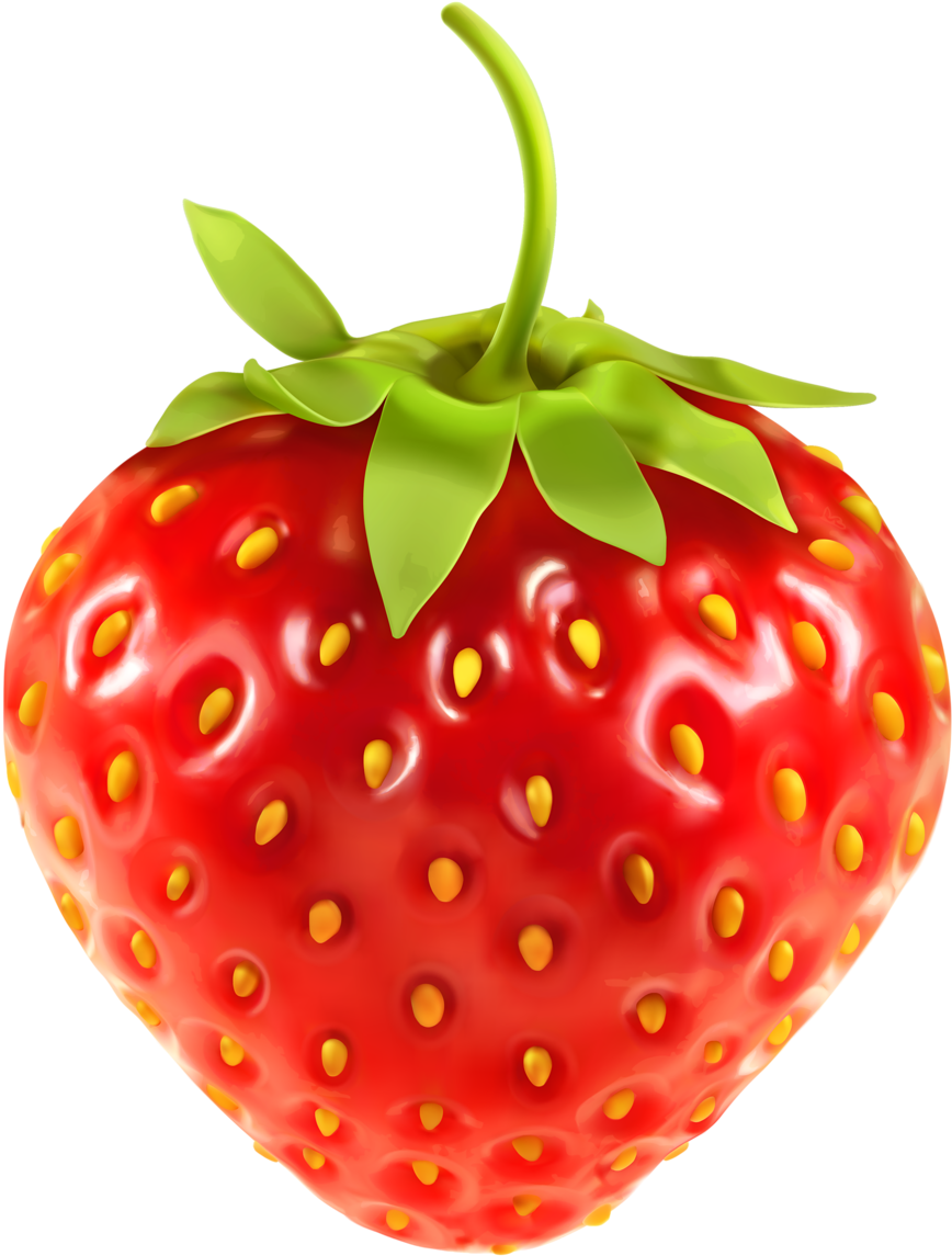 Buah Strawberry Png : strawberry, Strawberries, Transparent,, Download, Clipart, Library