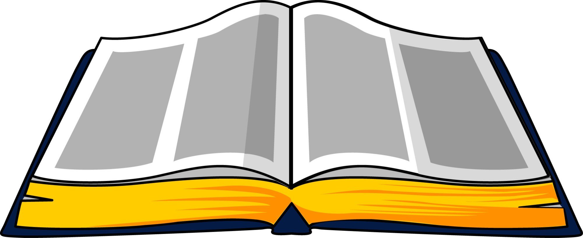 hight resolution of open bible clipart