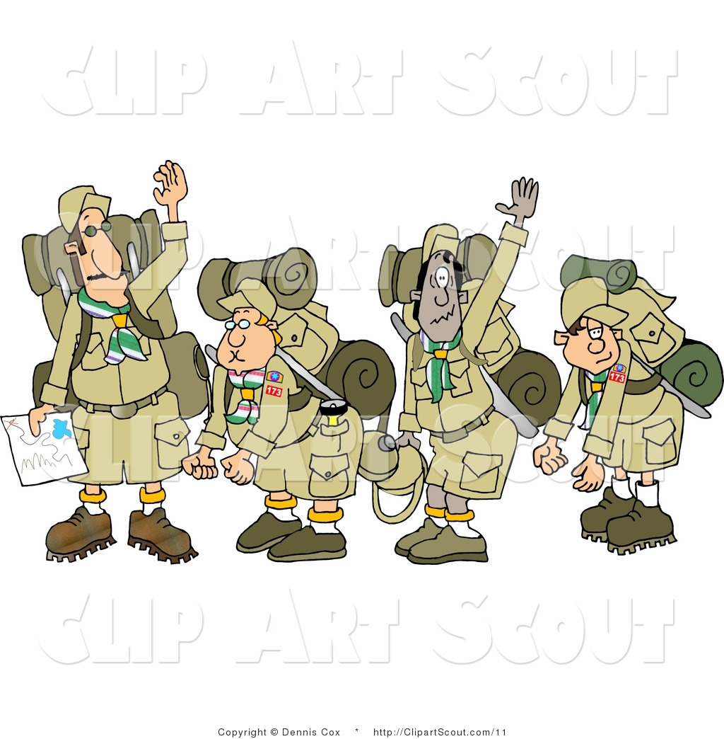 hight resolution of boy scout border clipart 3