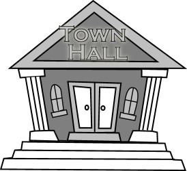 town hall clipart Clip Art Library