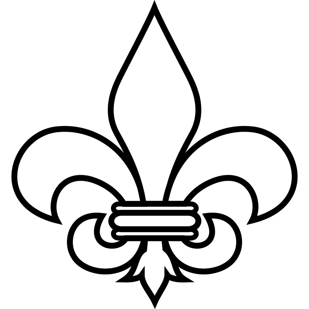 hight resolution of fleur de lis clip art 2968110 license personal use