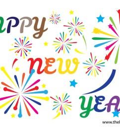 happy new year clipart [ 1800 x 1200 Pixel ]