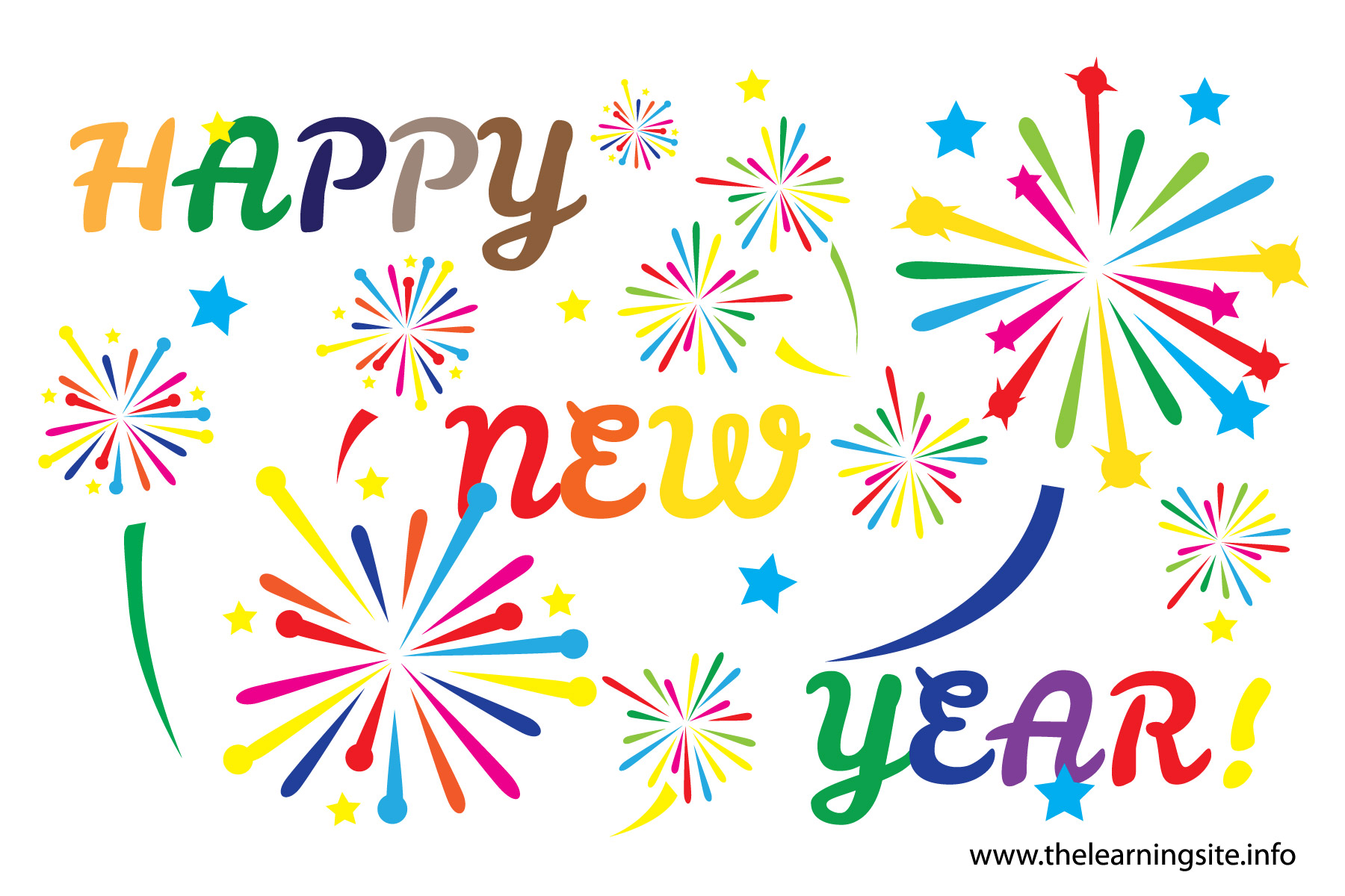hight resolution of happy new year clipart