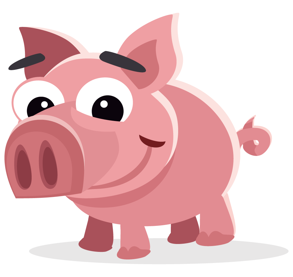 hight resolution of pig free to use clipart