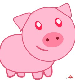 clip arts related to cute pig clipart [ 966 x 999 Pixel ]