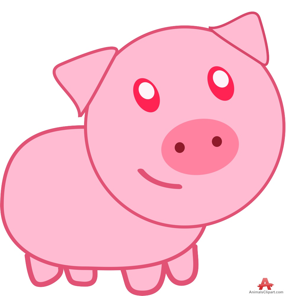 hight resolution of clip arts related to cute pig clipart