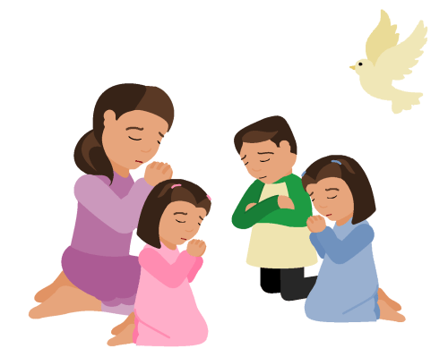 small resolution of prayer time clipart clipart kid 4