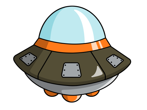 small resolution of cute spaceship clipart 2