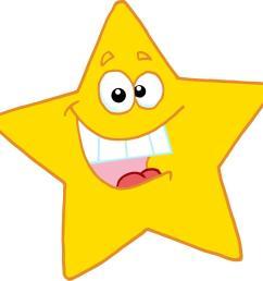 happy star clip art [ 1131 x 1103 Pixel ]