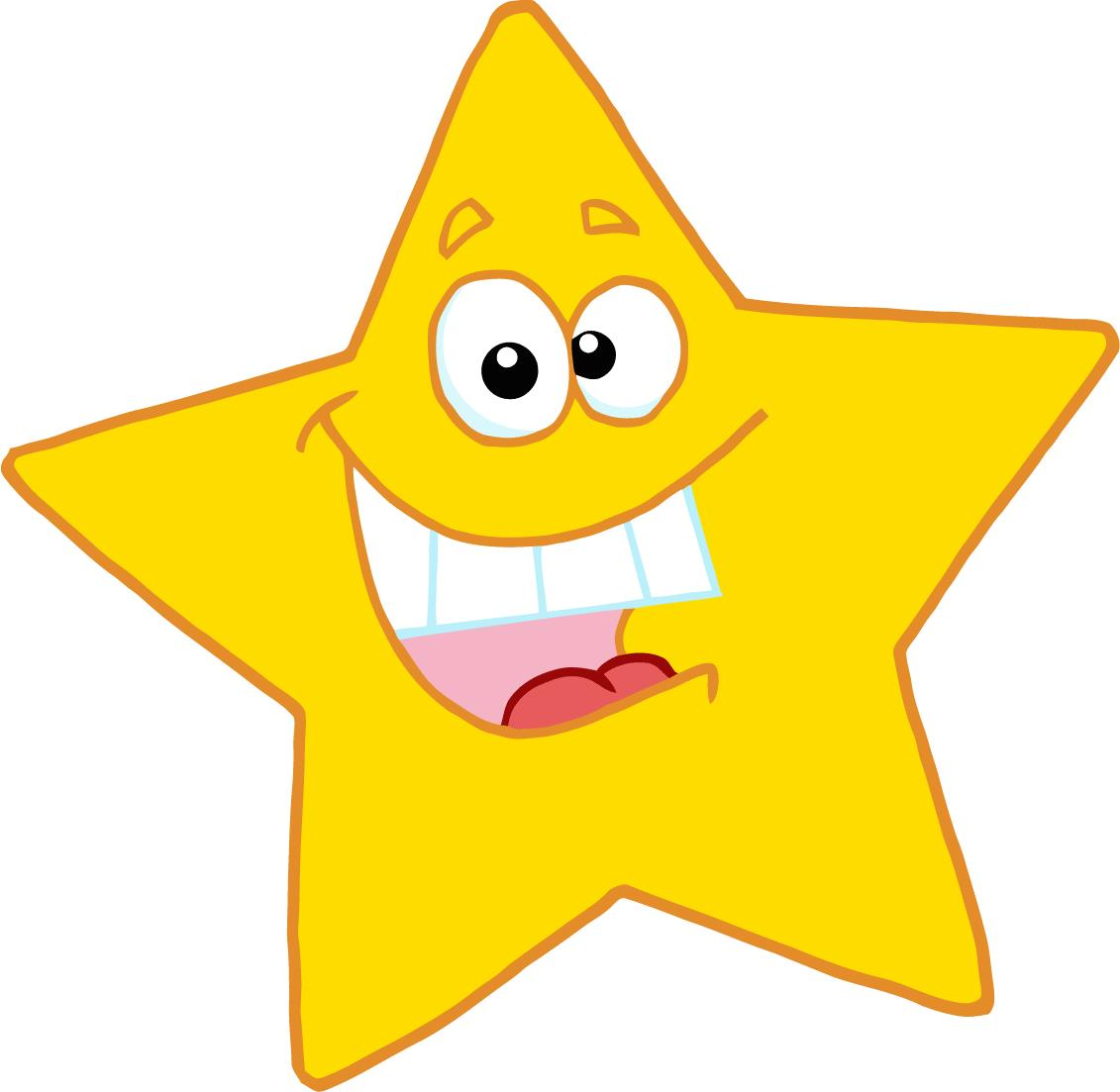 hight resolution of happy star clip art