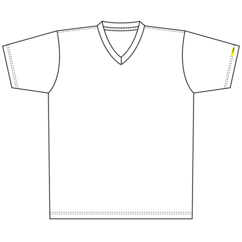 small resolution of t shirt neck shirt clipart