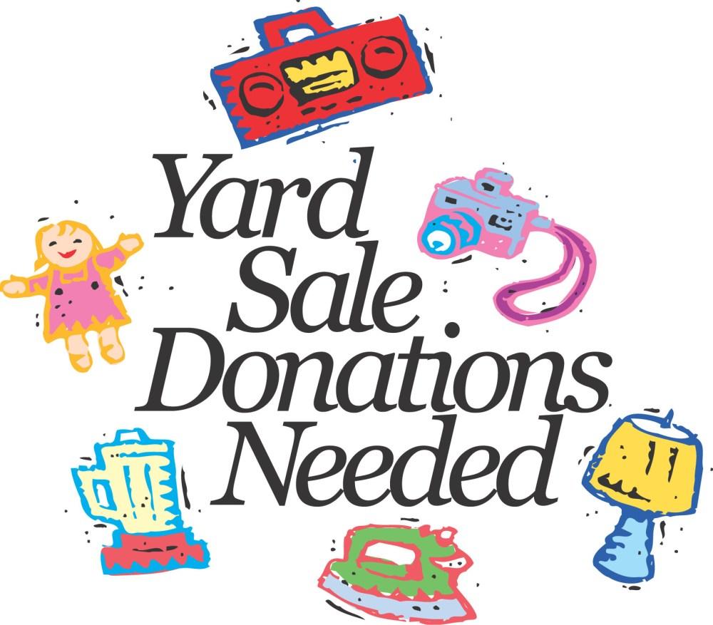 medium resolution of yard sale church garage sale clipart