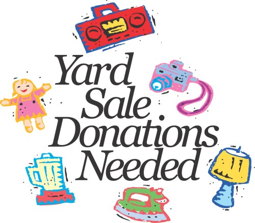 small resolution of yard sale church garage sale clipart