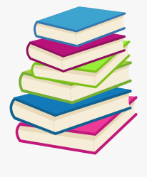 stack of books clipart png Clip Art Library