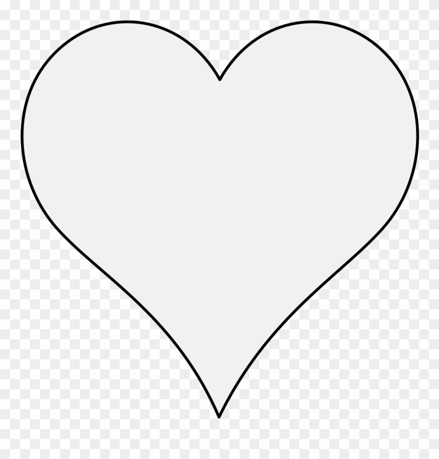 Free White Heart Cliparts, Download Free Clip Art, Free