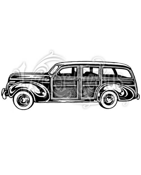 Vintage Car Clipart : vintage, clipart, Vintage, Library