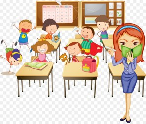 students in class clipart Clip Art Library