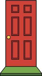clipart image of door Clip Art Library