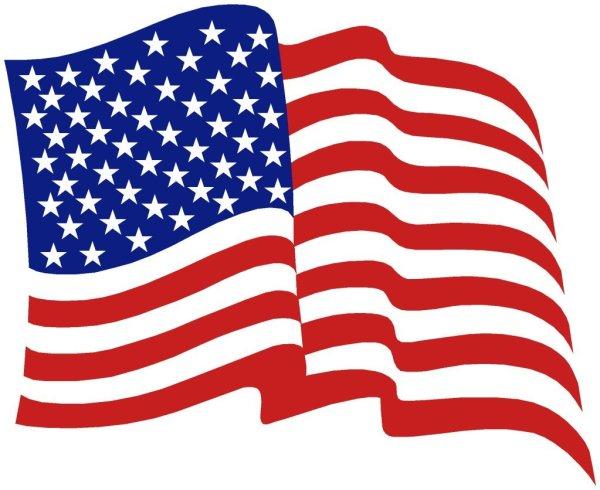 american flag clip art free
