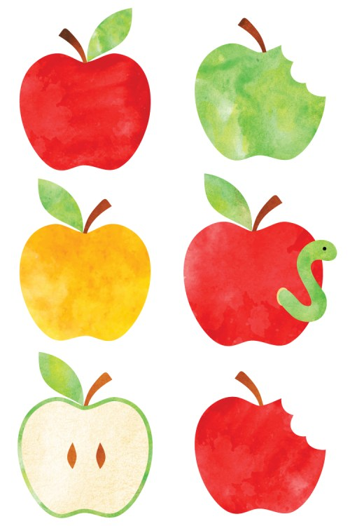 small resolution of watercolor apple clip art freebie friday hey let39s make stuff