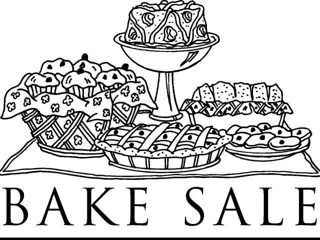 Bake sale clip art school