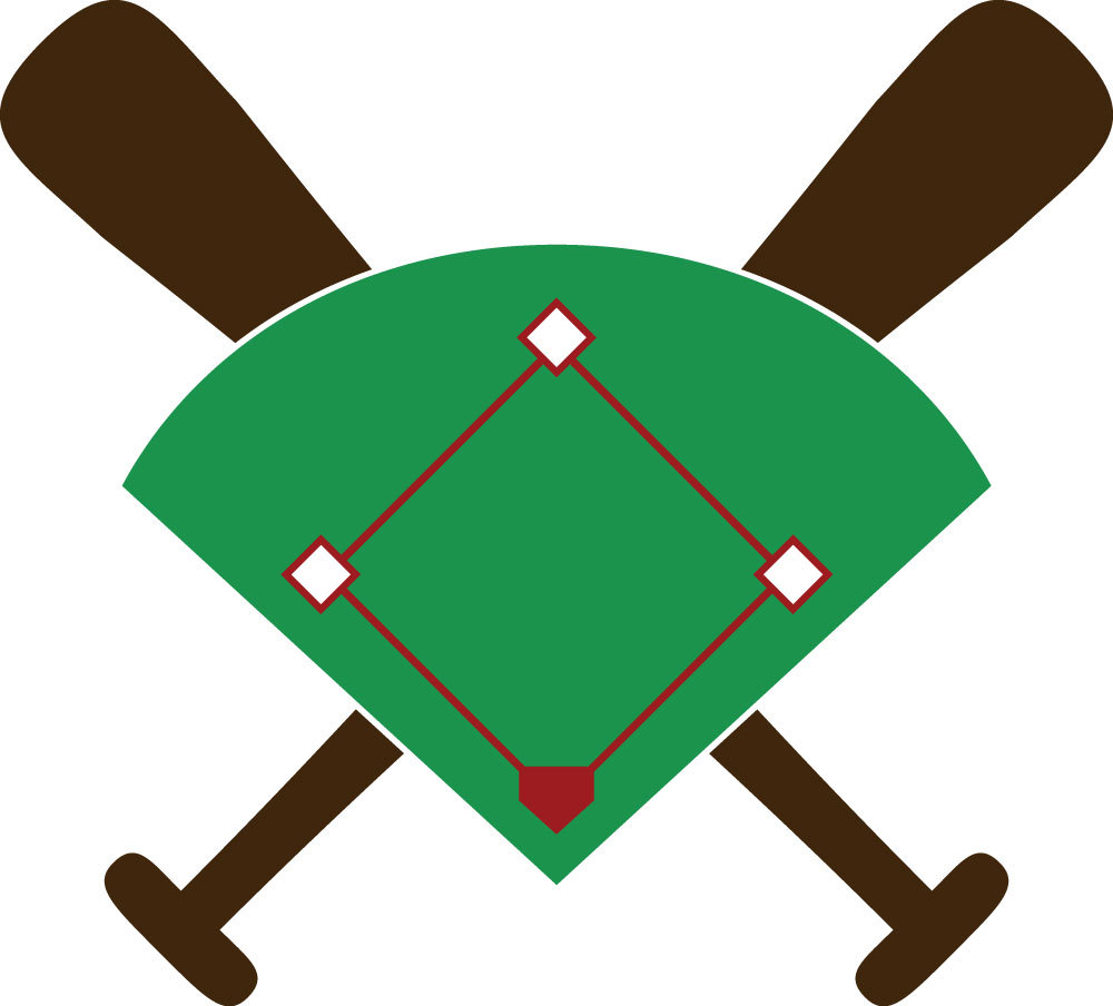 hight resolution of baseball diamond free download clip art