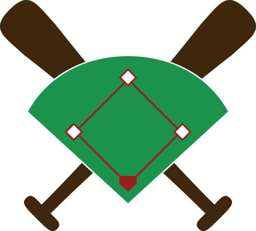 small resolution of baseball diamond free download clip art