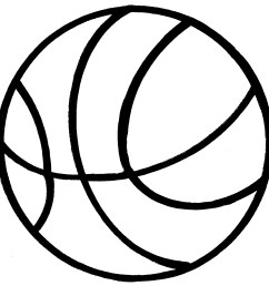 basketball clipart black and white clipart panda free clipart [ 1509 x 1500 Pixel ]
