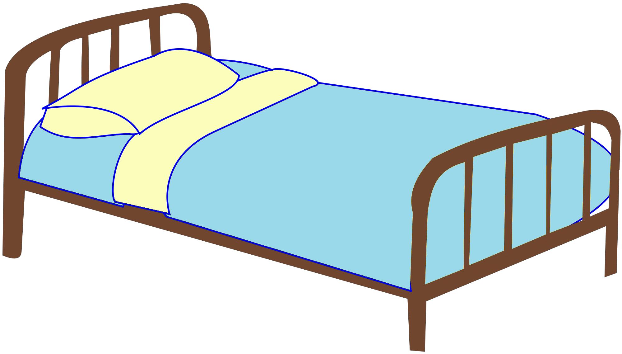 hight resolution of bed clip art
