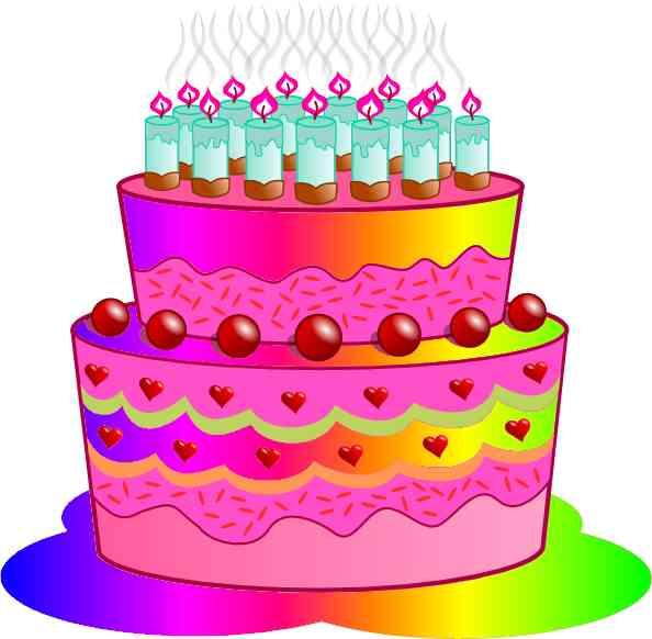 birthday cake clip art free
