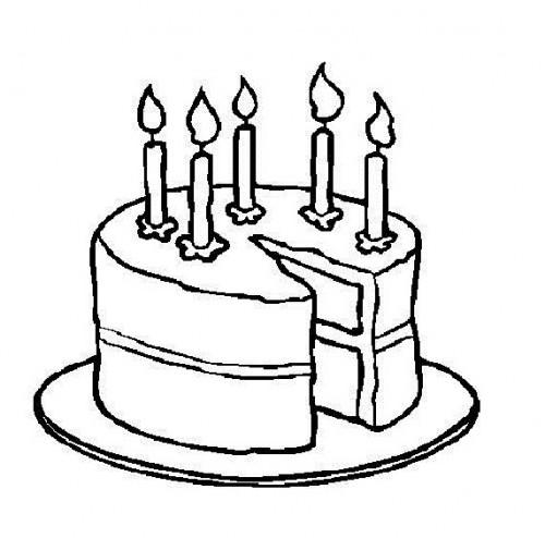 Cake black and white birthday cake clip art free black and