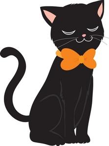 Black Cat Clip Art Free : black, Black, Download, Clipart, Library