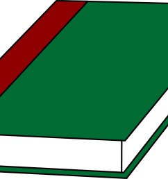 a book with a green cover free clip art sweetclipart [ 6227 x 3563 Pixel ]