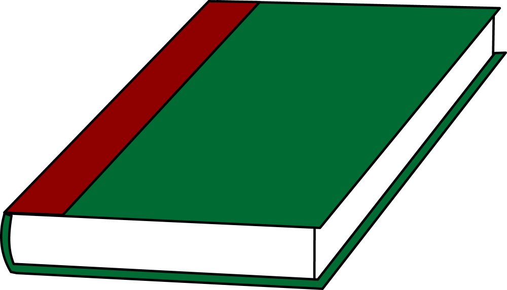 medium resolution of a book with a green cover free clip art sweetclipart