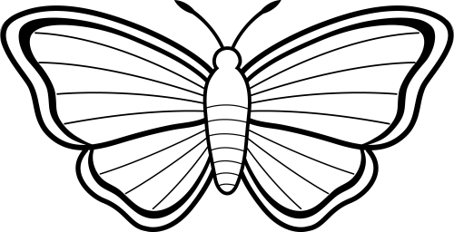 small resolution of clipart butterfly outline free clipart images 3 cliparting